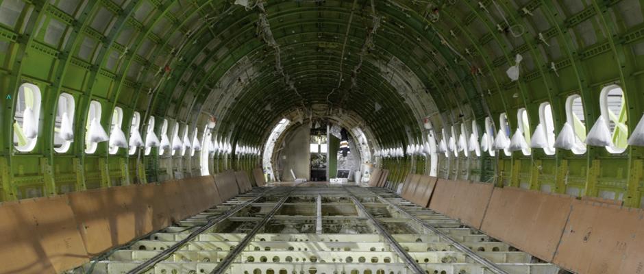 Flugzeug Innanraum